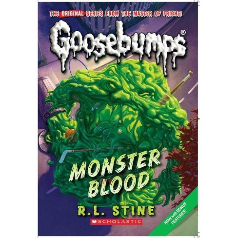 Monster Blood - (Goosebumps (Pb Unnumbered)) by  R L Stine (Hardcover) - image 1 of 1