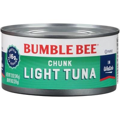 Bumble Bee Chunk Light Tuna in Water - 12oz