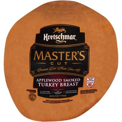 Kretschmar Masters Cut Applewood Smoked Turkey - price per lb
