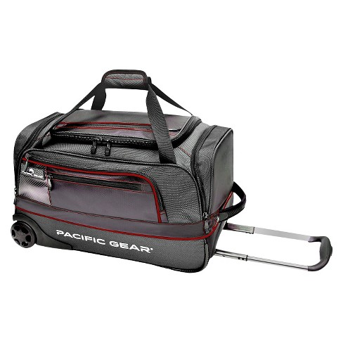 Pacific Gear Drop Zone Carry On Rolling Duffel Bag - Black - image 1 of 1