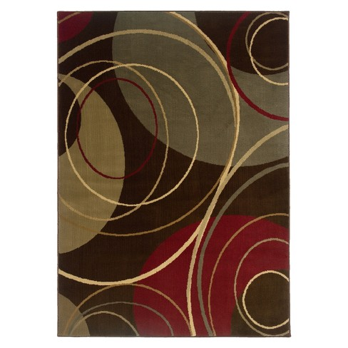 Infinity Circles Area Rug