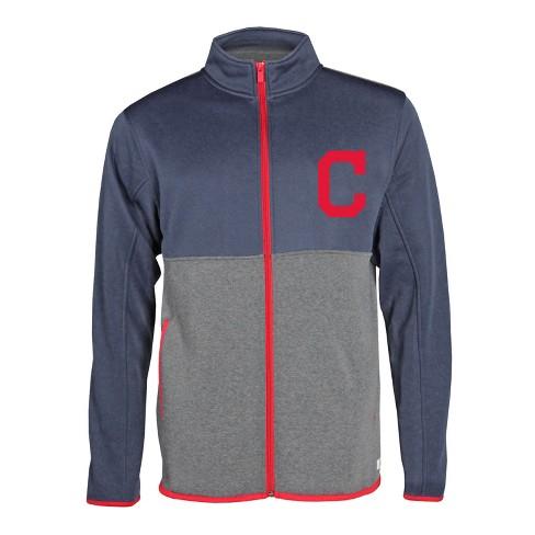 uk availability 15702 340fd Cleveland Indians Men's Bases Loaded Track Jacket S