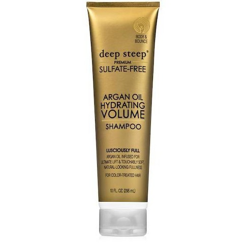 Deep Steep Argan Hydrating Volume Shampoo - 10 fl oz - image 1 of 4