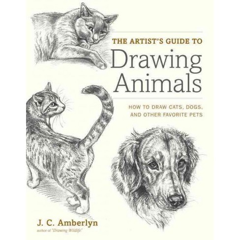 Artists Guide To Drawing Animals How Draw Cats Dogs And