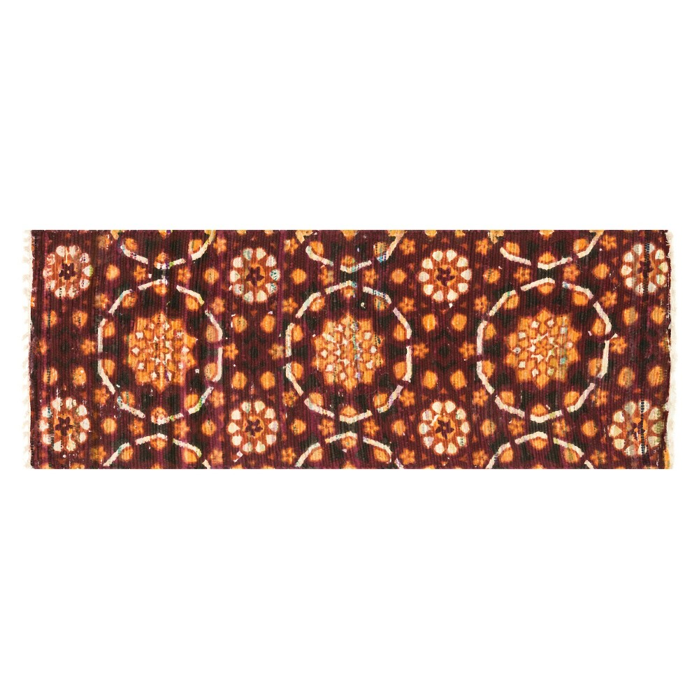 Loloi Aria Accent Rug - Red (1'9X5')