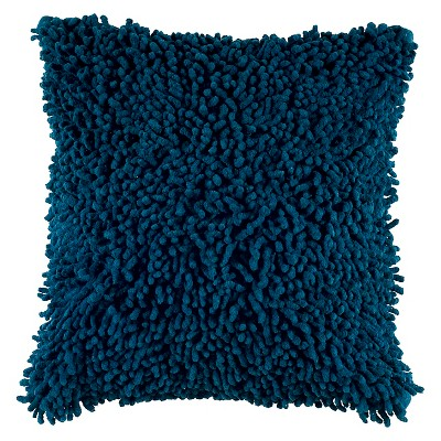 Shag Square Throw Pillow - Rizzy Home : Target