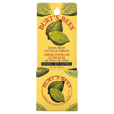 Burt's Bees Lemon Butter Cuticle Cream - 0.6oz