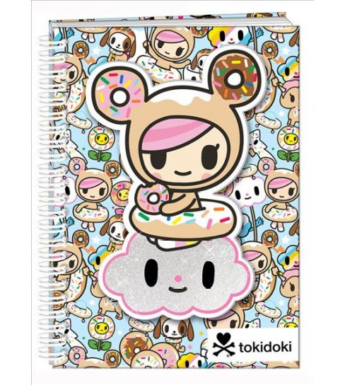 Tokidoki Spiral Notebook (Paperback) - image 1 of 1