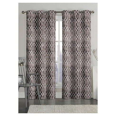 VCNY Andreas Printed Saxton Grommet Curtain Panel Pair - image 1 of 1