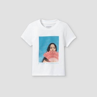 Toddler Girls' Kacey Musgraves Short Sleeve Graphic T-Shirt - White