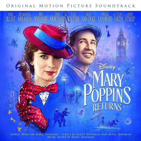 Various Artists - Mary Poppins Returns (CD) - image 1 of 1