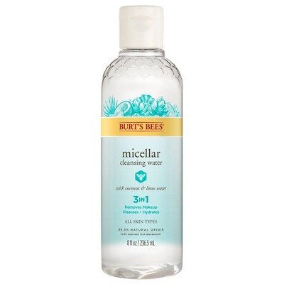 Facial Cleanser: Burt's Bees Micellar Cleansing Water