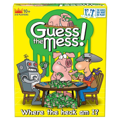 R&R Games Guess The Mess! Card Game - image 1 of 2