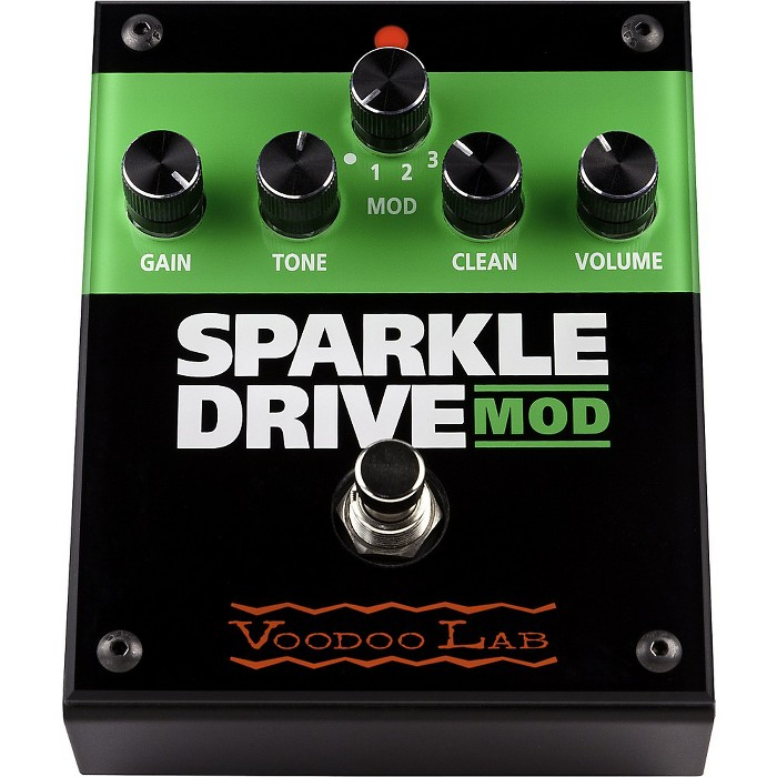 Voodoo Lab Sparkle Drive MOD Overdrive Guitar Effects Pedal - image 1 of 1