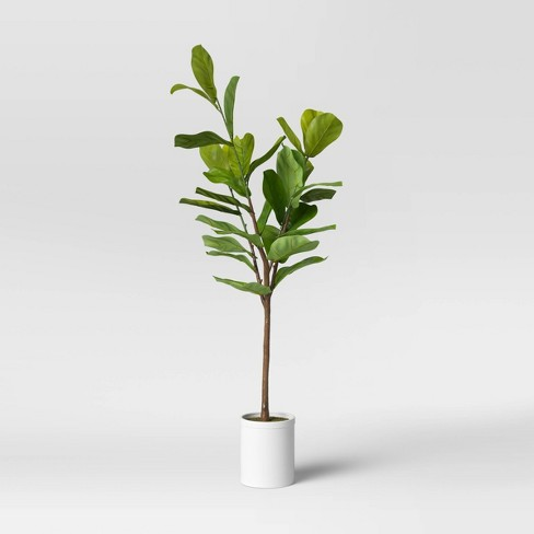 """72"""" Artificial Fiddle Leaf Tree in Pot - Threshold™ - image 1 of 4"""