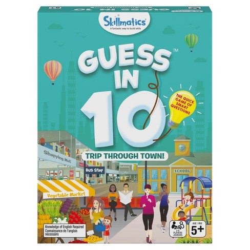 Skillmatics Guess in 10 Trip Through Town Card Game - image 1 of 4