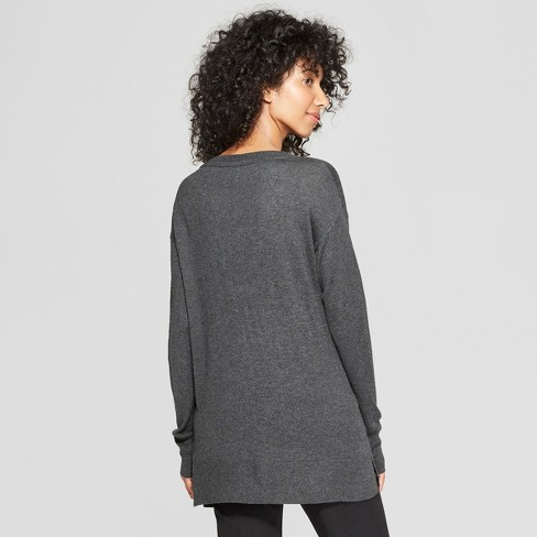 Women s V-Neck Luxe Pullover Sweater - A New Day™   Target 98a2f863f