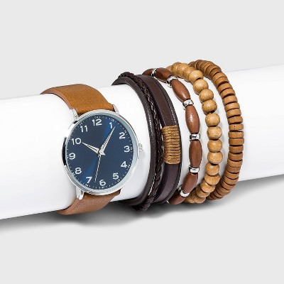 Men's Watch Set with Accessories - Goodfellow & Co™