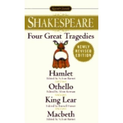 Four Great Tragedies - (Signet Classics) by  William Shakespeare (Paperback) - image 1 of 1