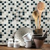 RoomMates Metallic Checkerboard Tile Peel And Stick Backsplash - image 2 of 2