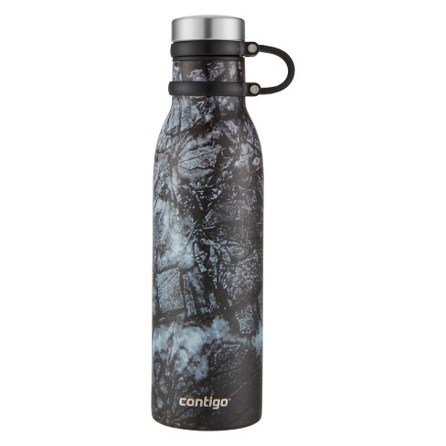 Contigo 20oz Couture Thermalock Vacuum-Insulated Stainless Steel Water Bottle Carbon - image 1 of 3