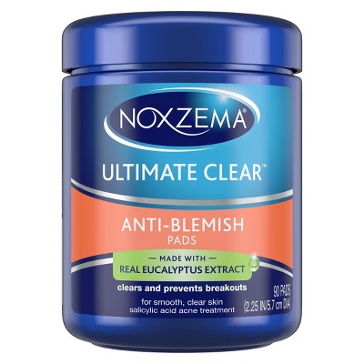 Noxzema Ultimate Clear Anti Blemish Pads 90 ct