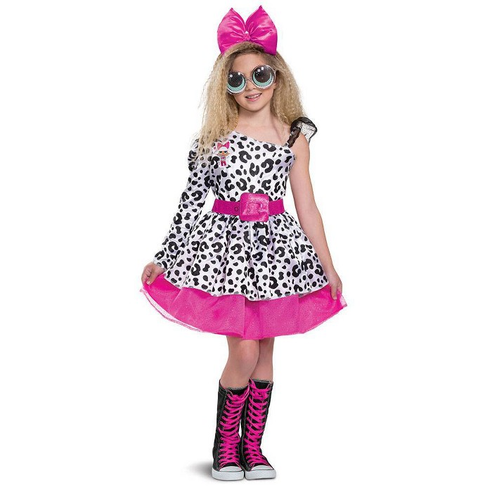 Girls' L.O.L. Surprise! Diva Deluxe Halloween Costume L - image 1 of 2