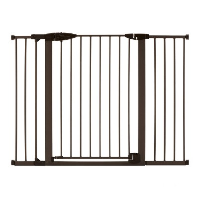 "Toddleroo by North States Riverstone Extra Tall And Wide Baby Gate - Graphite - 29.75""-52"" Wide"