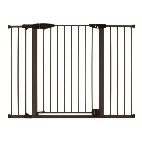 "Toddleroo by North States Riverstone Extra Tall And Wide Baby Gate - Graphite -  29.75""-52"" Wide - image 1 of 4"