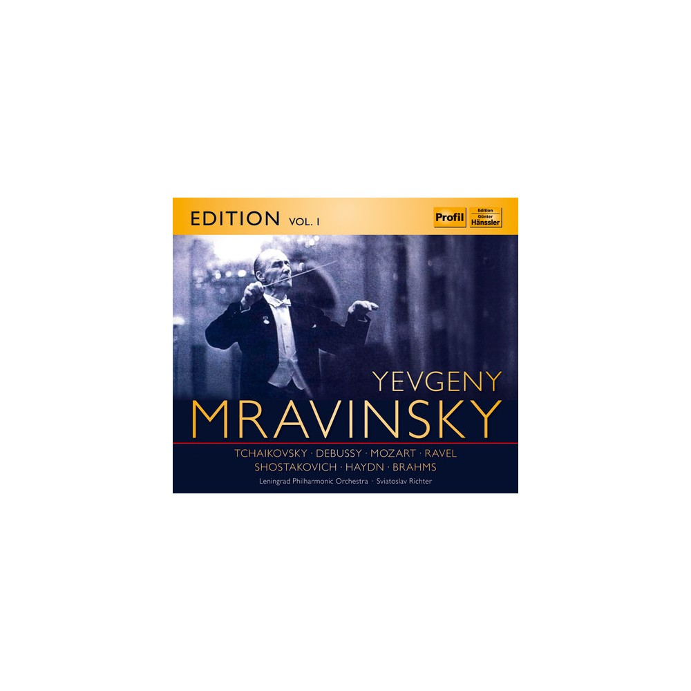 Yevgeny Mravinsky - Mravinsky Edition:Vol 1 (CD)