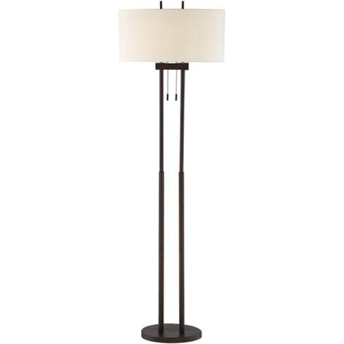 360 Lighting Modern Floor Lamp Twin