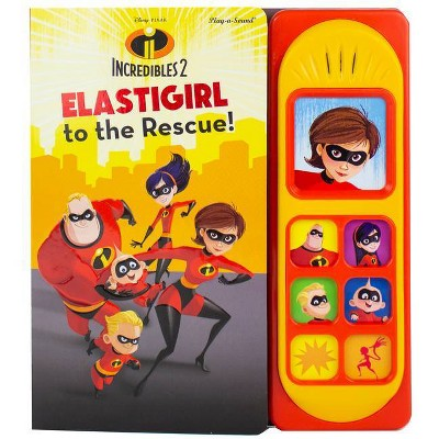 Disney Pixar Incredibles 2 - (Play-A-Sound) by  P I Kids (Board Book)