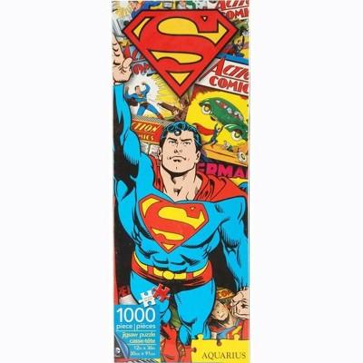 NMR Distribution DC Comics Superman Retro 1000 Piece Slim Jigsaw Puzzle