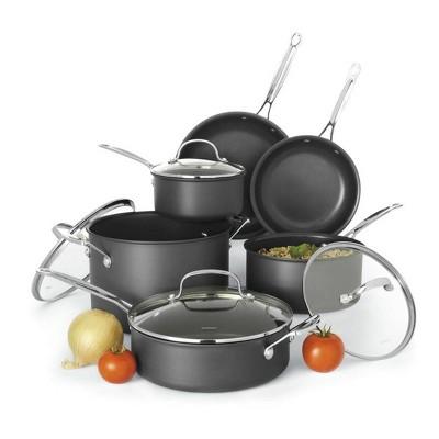 Cuisinart SmartNest 11pc Hard Anodized Cookware Set - N61-11
