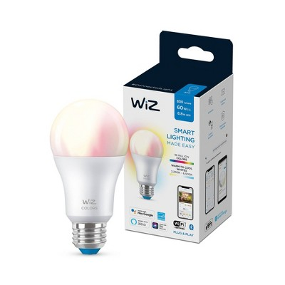 WiZ A19 Color and Tunable LED Bulb White