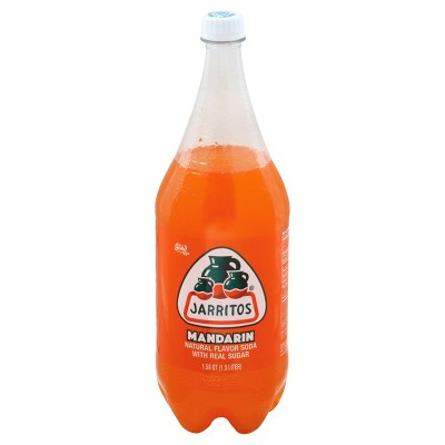 Jarritos Mandarin Soda - 1.5 L Bottle