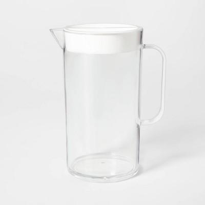 2.4L Plastic Drink Pitcher White - Sun Squad™