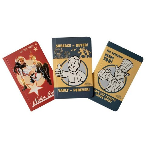 Fallout Pocket Notebook Collection (Set of 3) - by  Insight Editions (Paperback) - image 1 of 1