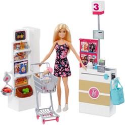 Barbie Supermarket Playset