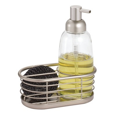iDESIGN Forma Soap Pump Caddy Clear