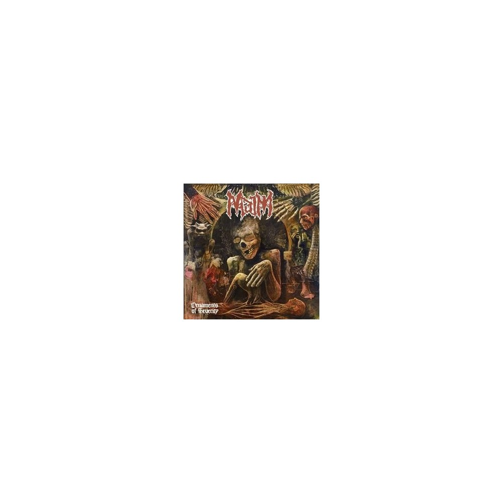 Image of Maim - Ornaments Of Severity (CD)