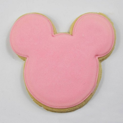 Disney Mickey Mouse & Friends Pink Minnie Sugar Cookie - 2.12oz - image 1 of 3