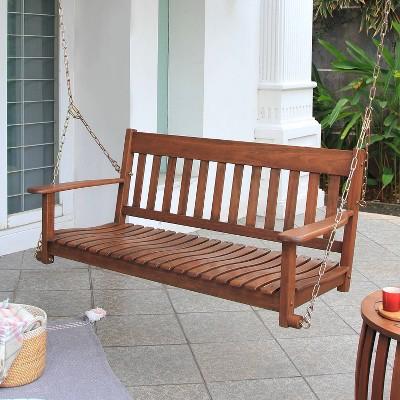 Alston Porch Swing - Brown - Cambridge Casual