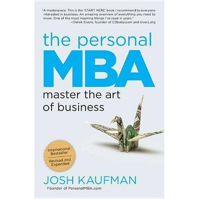 The Personal MBA - by Josh Kaufman (Paperback)