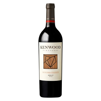 Kenwood Merlot Red Wine - 750ml Bottle