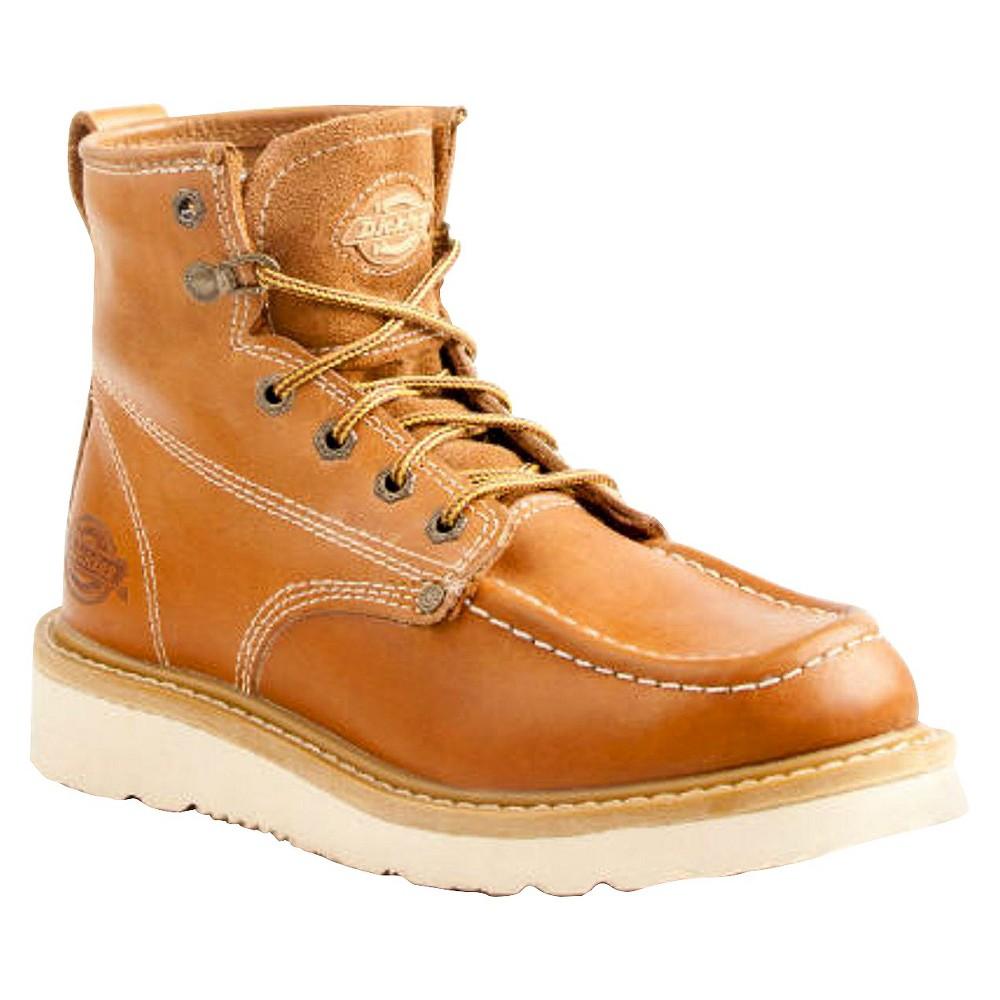 Men's Dickies Trader Genuine Leather Work Boots - Tan 9, Beige