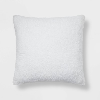 Sherpa Square Pillow - Room Essentials™