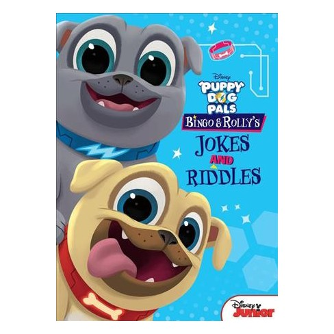 Puppy Dog Pals Bingo and Rolly's Jokes and Riddles - (Paperback) - image 1 of 1