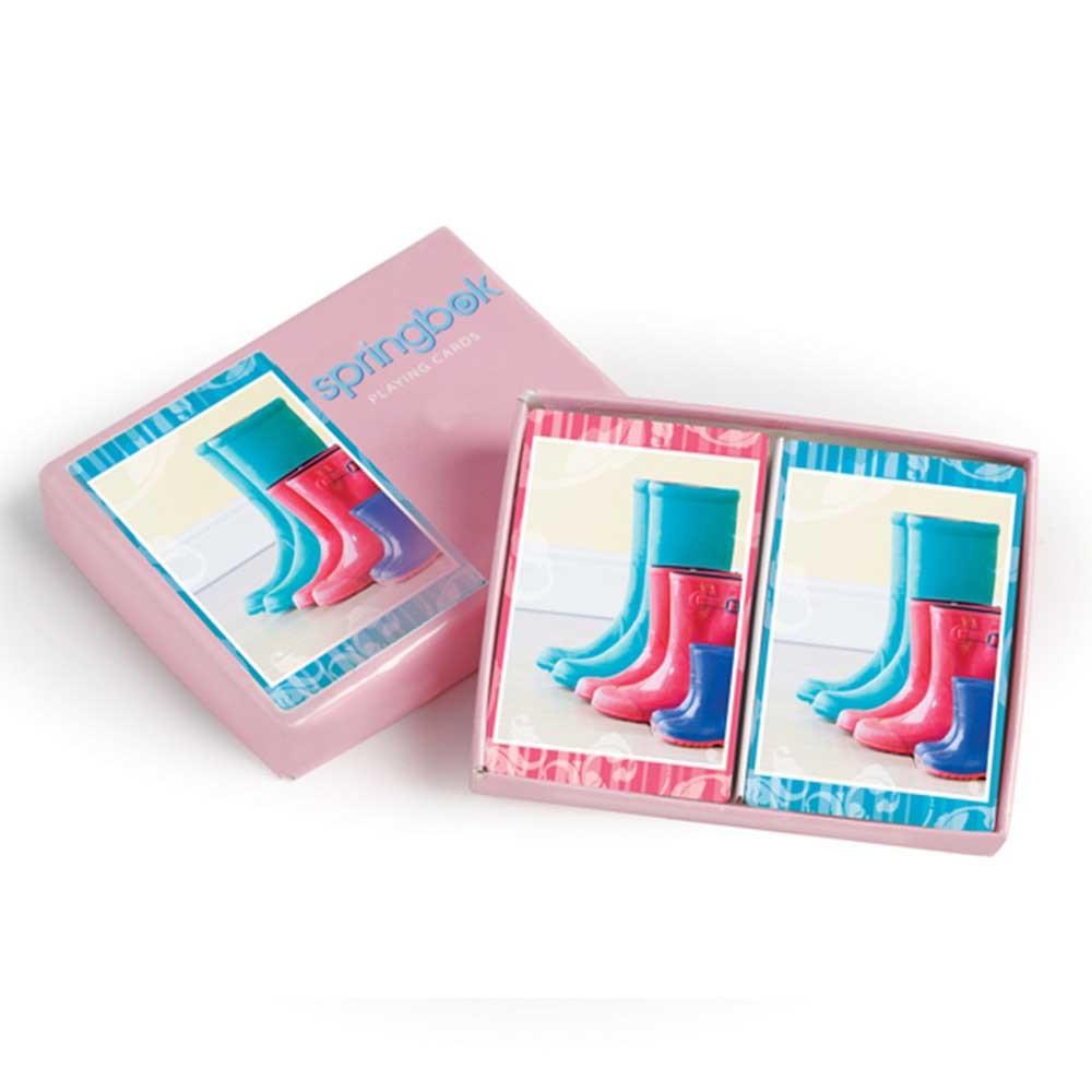 Springbok Boots Bridge Standard Index Playing Cards