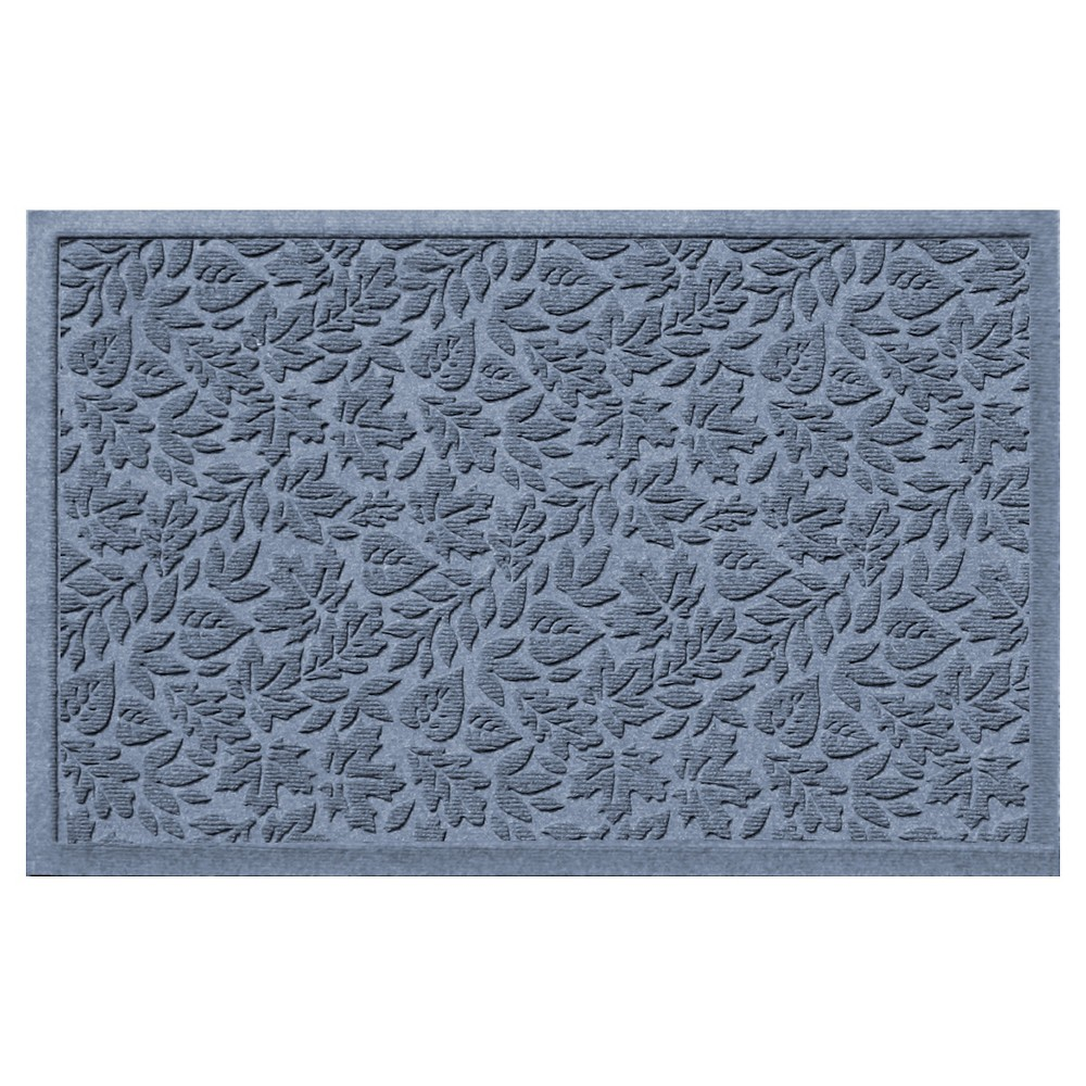 Blue Stone Botanical Doormat - (2'X3') - Bungalow Flooring, Bluestone